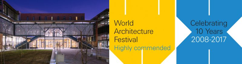 Savage+Dodd wins Highly Commended Certificate at World Architecture Festival 2017