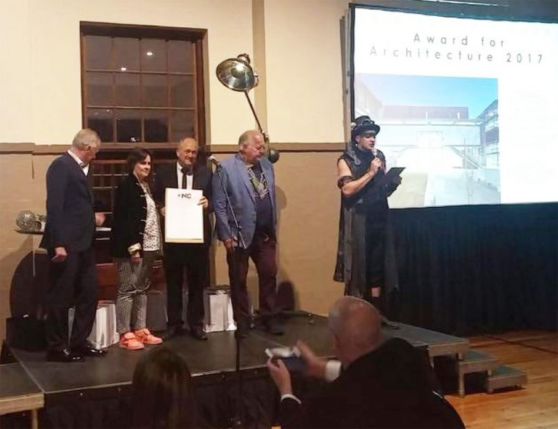 Savage Dodd Wins SAIA Northern Cape Award for Architecture