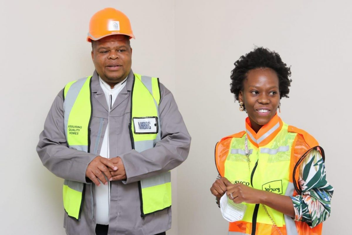 Union Square visited by the Deputy Minister of Human Settlements, Water and Sanitation